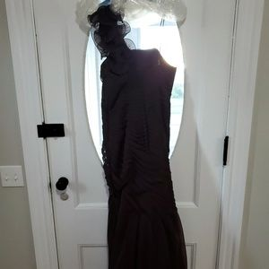 Brown Mother of the Bride Dress